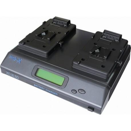 PRO X XC2LSD Cargador/alimentador 2 BAT MONTURA V.